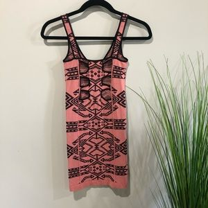 Free People Dresses - Free People dress Aztec pink XS/S